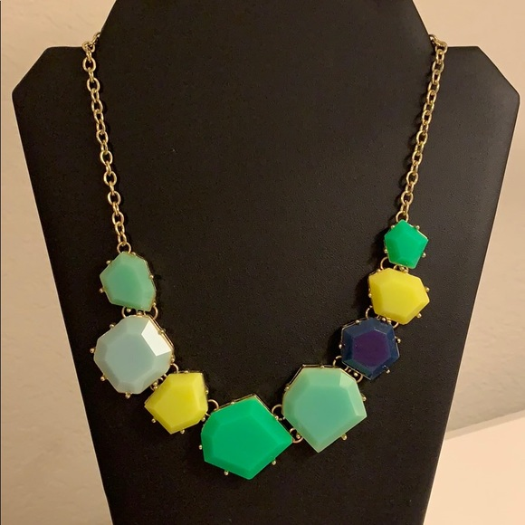 Francesca's Collections Jewelry - Never been worn green and blue necklace!